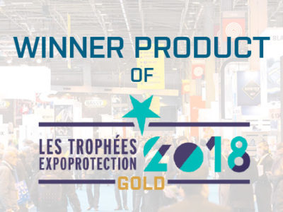 CleanAIR Ultimate is winner product at EXPO Protection 2018